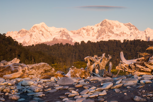 Mount Cook and Mount Tasman