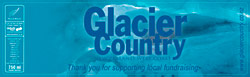 Glacier Country Water Bottle