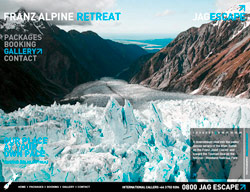 JAG Escape Website – Franz Josef Glacier
