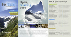 Fox Glacier Tourism Promotions Brochure