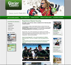Glacier Country Website
