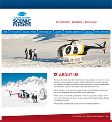 Scenic Flights Website