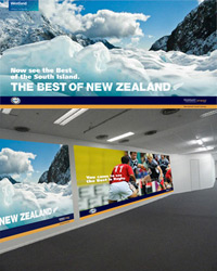 Christchurch Airport - RWC 2011 Campaign