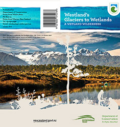 Department of Conservation Wetland brochure