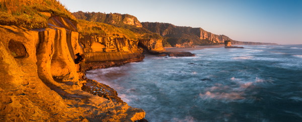 Punakaiki Coastline Sunset
