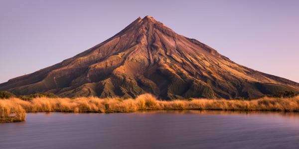Dawn over Mount Taranaki